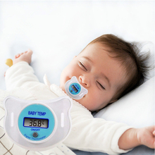 2016 Practical Baby Infant Newborm Kid LCD Digital Safety Health Mouth Nipple Dummy Pacifier Thermometer Temperature