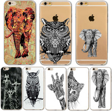 Indian Elephant Owl Giraffe Soft Case For iphone 5 5S SE Meizu U10 U20 Samsung Galaxy J2 Prime J5 J510 2016 Xiaomi Redmi 4 Pro