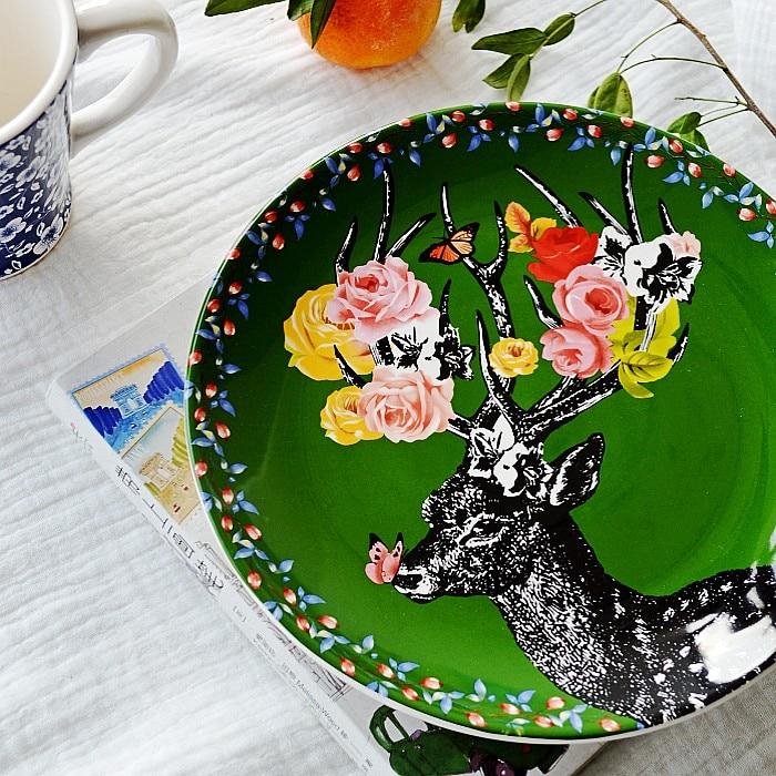 Easyzreal/ Nordic Sen Female Line of Ceramic Table...