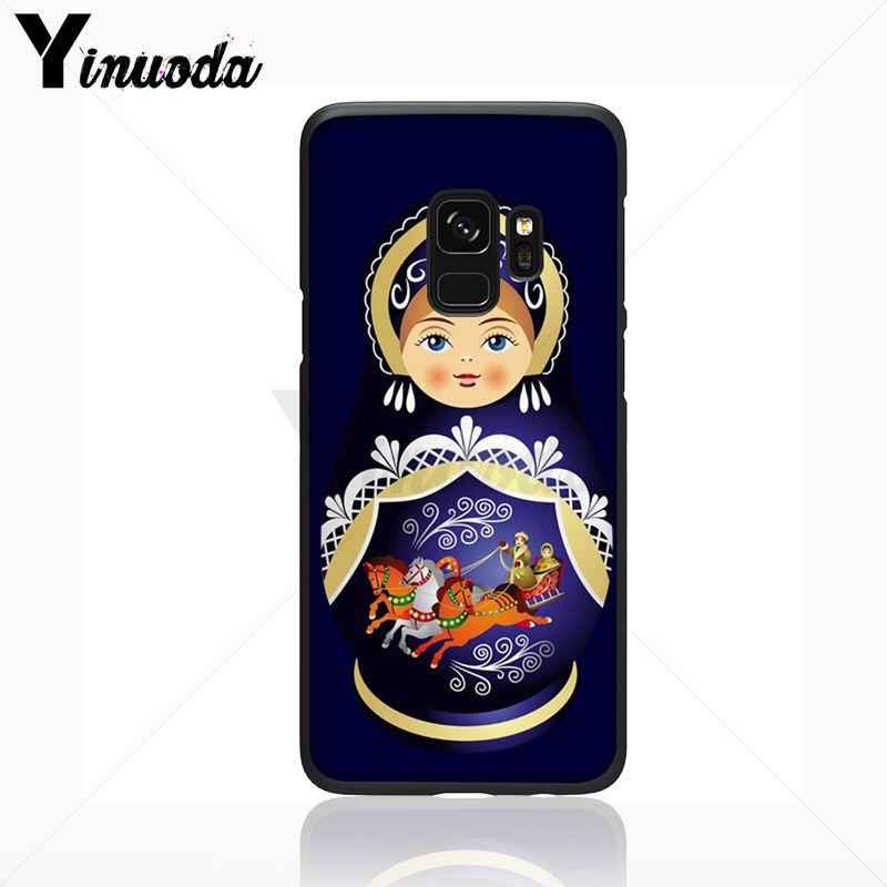Cute Russian Dolls Pattern Matryoshka