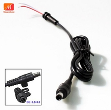 DC Power Charger Plug Cable Connector 5.5*3.0mm with pin For Samsung Laptop adapter 5.5*3.0mm DC cable(China)