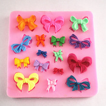 Bowknot Mini Bow Food Grade Silicone Mold Chocolate Cake Decorating Decoration Heat Safe Mould For Polymer Clay 4g0u
