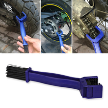 Motorcycle Cleaner Chain Cleaning Tool Cycle Bicycle Motorbike Motorcycle Chain Brush Bike Maintenance Cleaning Brush For KTM