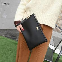 xiniu Fashion Women Messenger Bags Envelope Bag Coin Bag Phone Bag Wallet carteira feminina Cluthes wallet woman(China)