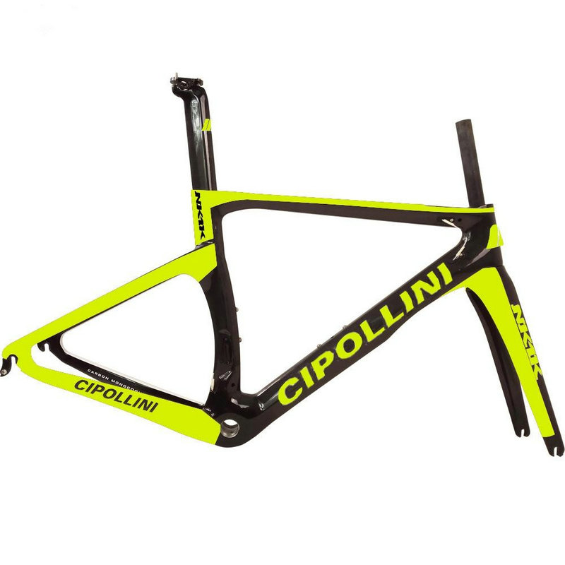 Superlight AWST T1000 3k carbon bicycle frameset 2017 Cipollini NK1K carbon frames bicycle chinese carbon road frame hot sale
