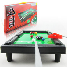 MINOCOOL Pool Table desktop simulation billiards Novelty Mini billiards table sets children's  Indoor playing balls Sports Toys
