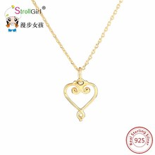 2017 New Mother's Day Love Gift Mom Letter Heart 925 Silver Pendent Necklace Personalized Sterling-Silver-Jewelry for Mom gifts