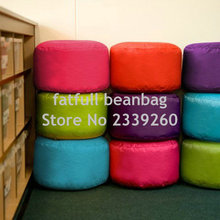 COVER ONLY NO FILLER - various colors waterproof colorful bean bag footstool , beanbag cubes ottmans and seats