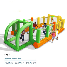 DHL free Shipping Inflatable Soccer Field Football table Inflatable Human Foosball Court Kids inflatable castle sport playground