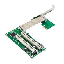 PCI-e To PCI Adapter PCIe To 2 PCI Extension Card Support CREATIVE Sound Card Capture Card