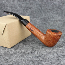 Smoker 6 Smoking Pipe Tools Rosewood Smoking Tobacco Pipe Wooden Pipe for Smoking Tobacco AD0011