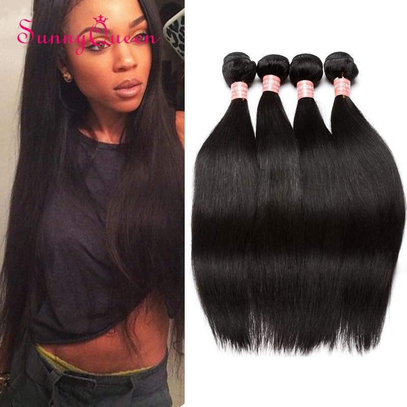 Peruvian Virgin Hair Straight 4 Bundles Peruvian Straight Hair 8A Unprocessed Peruvian Straight Virgin Hair Human Hair Weave<br><br>Aliexpress