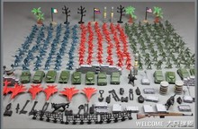 284pcs/lot World War II toy soldiers figures gi joe german army classic toys Christmas Gift for kid boys toys 3cm people(China)