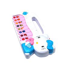 Kid's Educational Musical Keyboard Piano Toy Children Electronic Organ Toys Gift for Children Kids Learner T30(China)