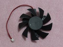 POWER LOGIC PLA08015S12HH 75mm Graphics / Video Card VGA Cooler Fan Replacement 47mm 12V 0.35A 2Wire 2Pin Connector