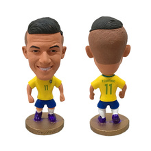 "DIVERSION Soccer Player Star 11# P.COUTINHO (BR-2016) 2.5"" Toy Doll Figure(China)"