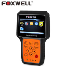 FOXWELL NT614 Car Engine Transmission ABS SRS Airbag Multi-Brand Diagnostic Tool Air bag Crash Data Reset Auto OBD OBD2 Scanner(China)