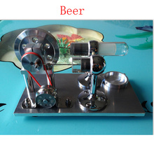 Cool !Miniature Stirling engine 'Beer' Stirling engine engine generator model hobby Educational Toy Kits