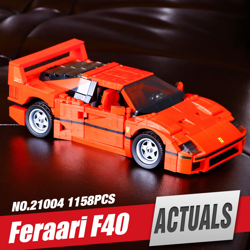 LEPIN 21004 1158pcs F40 Sports Car Model Educational Building Blocks Kits Bricks Toys For Children Compatible with 10248<br><br>Aliexpress