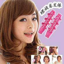 Fashion DIY spiral hair curler curl sticks hair rods for curly hair curling tools as hair hairdressing styling tools wholesale
