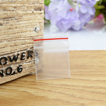 1000pcs/lot 4x4cm Thicken Small PE Ziplock bag - clear plastic pouches zipper reusable, gift/jewelry packaging pouch ploy bag