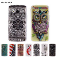 Luxury Soft TPU Phone Case Cover For Samsung Galaxy ACE 4 Neo G318H SM-G318H Duos Ace4 Lite G313 G313H Trend 2 Lite Case Silicon(China)