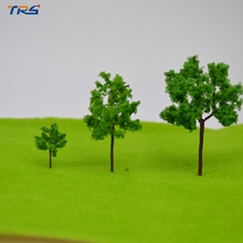 Teraysun 35mm-90mm architectural scale wire tree model ho z scale model tree gaden park tree for model railroad layout