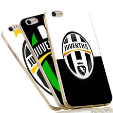 Italy Juve Football Team Juventus FC Logo Soft TPU Phone Case for iPhone 7 6 6S Plus 4 4S 5C 5 SE 5S Cover