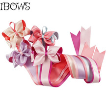 Funny Child Kid Ribbon Hair Bow Hair Clip Holder Storage Organizer Hair Accessories Girls Personal Hair Bow and Clip Hanger