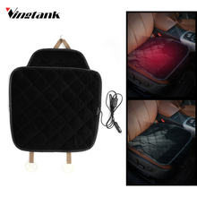 Vingtank Carbon Fiber Car Seat Heater Car Heated Seat Cushion 12V Warm Winter Electric Heating Pad Cover for Cold Weather(China)