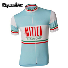 2017 NEW cycling jersey Short sleeve blue bike clothing bicycle wear short sleeve ropa ciclismo maillot WaywardFox