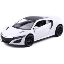 1:36 Scale/for Honda Acura NSX Sport Car/Education Model/Classical Pull back Diecast Metal toy/For Collection Gift