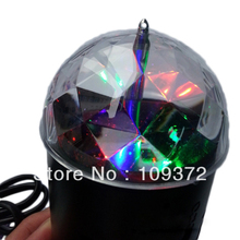 Free Shipping LED RGB Crystal Magic Ball Effect Stage Light Disco DJ Christmas Laser Projector Lighting Show for Sale(China)