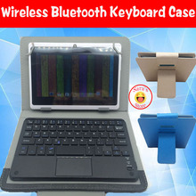 Free Shipping Wireless Bluetooth Keyboard Case For Dell Venue 8 pro 8 inch Tablet PC Dell Venue 8 3830 3840 Venue 7 Free 4 Gifts(China)