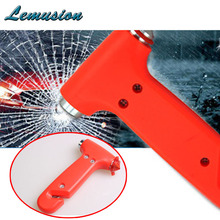 1Pc Car safety hammer multi-function Emergency survival tools for Renault duster logan Peugeot 206 307 308 207 Chevrolet cruze(China)