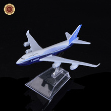 Free Shipping,Boeing B747 United Airlines Diecasts Metal 1/400 Scale Model Airplane 16CM/Desk Decoration