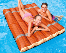 171*140cm Double row inflatable floating raft floating bed sand beach water bed pad