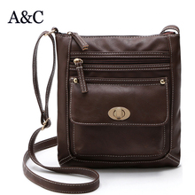 AC Export single 2015 Europe new portable small satchel bag high quality leather shoulder bags designers women's flap bags(China)