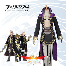 (Female Avatar) HOT! Free Postage! Fire Emblem Awakening Rufure Robin Copslay Custom Costume Adult Women Outfit Clothing W0800-1