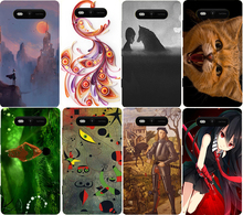 Hot Sale Fashion Cartoon Painting Cover For Nokia Lumia 820 Phone cover Case For Nokia Lumia 820 Colored Drawing Back Cases