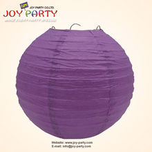 10 pieces per lot Purple Chinese Paper Lantern Ladies Party Halloween Hanging Decor Favor