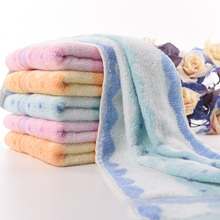 Colorful face cloth high quality face hand towel quick dry christmas towels gift home use fabric towel free shipping
