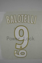 [Power lock]16-17 Ligue 1 Home NICE #9 BALOTELLI heat transfer [FT0063]