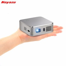 Noyazu 1500 Lumens LED Projector Set in Android 4.4 WIFI Bluetooth MINI Beamer Pocket Projector Display Outdoor Home Cinema