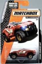 Matchbox Die-cast MBX 2014 Collection: CRIME CRUSHER 4X4/Toy/Model Car/2015 case A/7CM