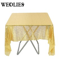 120x180cm Wedding Cake Table Cloth Gold Sequin Table Overlay Toalha  Round Tablecloth Decoration Sequin Bling