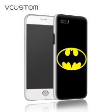 New arrival 2017 super man batman white hard cases for IPHONE 5 5s phone case