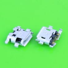 50X micro usb Jack socket connector for Sony Ericsson R800 Z1 Z1i for BlackBerry 9800 charging port mobile phone(China)