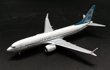 PM 1:400 Boeing B737-MAX8 Original coating Alloy airliner model N8702L Collection model Holiday gift
