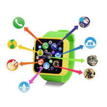 Baby Child Kids Educational Smart Watch Early Learning 3DTouch Screen Music Toy(China)